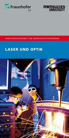 Front page Flyer Laser and Optics