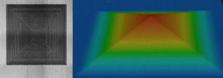 Ablated Ti-6Al-4V using ultrashort pulsed laser radiation